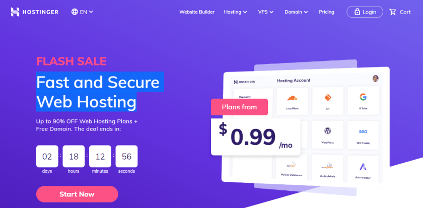 Hostinger-best WordPress hosting providers