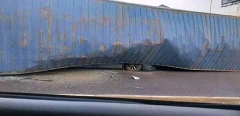 Fatal accident at ojuelegba
