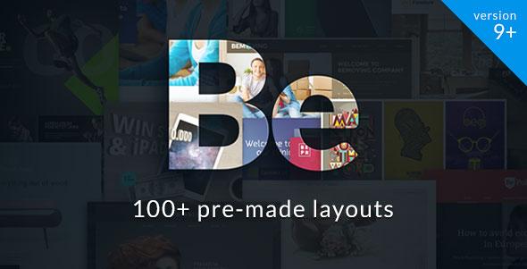 preview of BeTheme WordPress theme