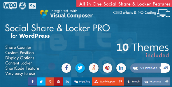 Social Share top Bar AddOn - WordPress 7