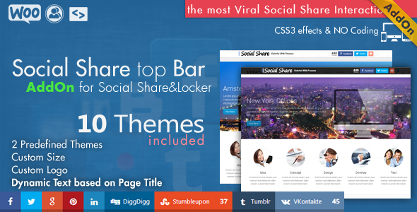 Social Share & Locker Pro WordPress Plugin 18