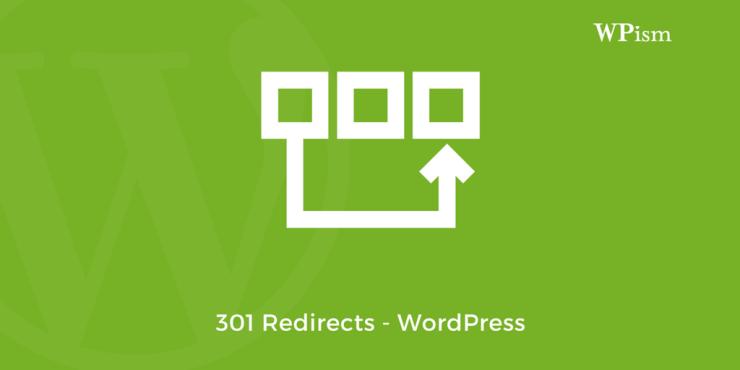 301 Redirects WordPress