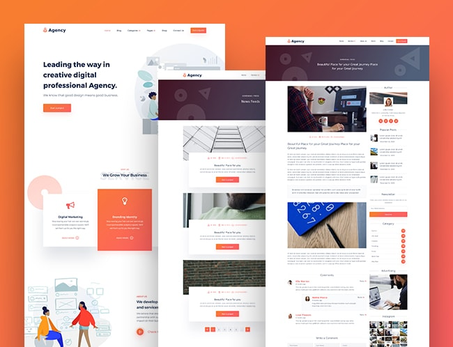 Agency WordPress Theme MyThemeShop