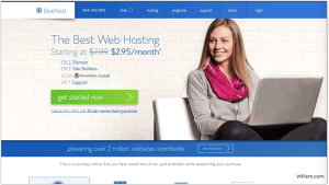 Bluehost Hosting Easter WordPress deal