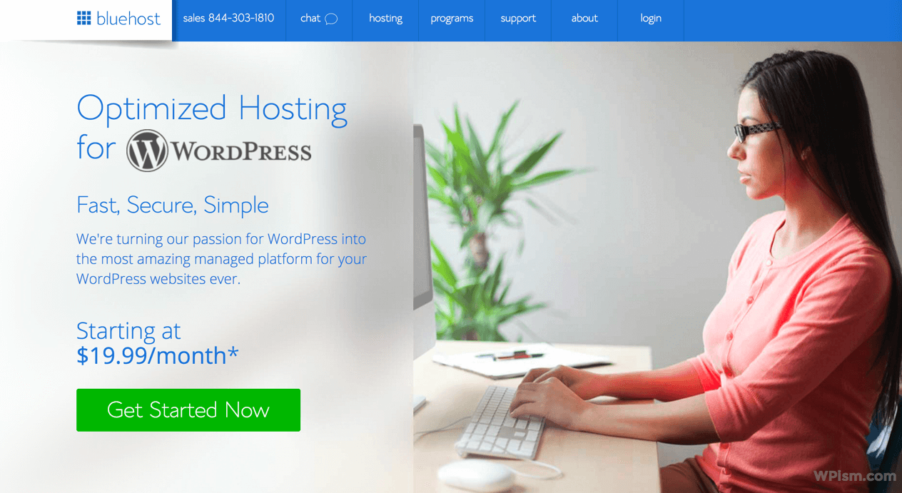 Bluehost Signup Managed WordPress Hosting