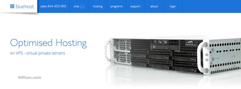 Bluehost WordPress Optimised Hosting on VPS