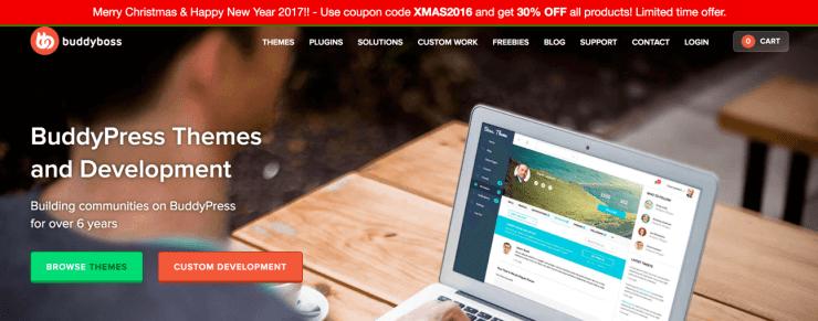 Buddyboss Buddypress Themes Sale 2017