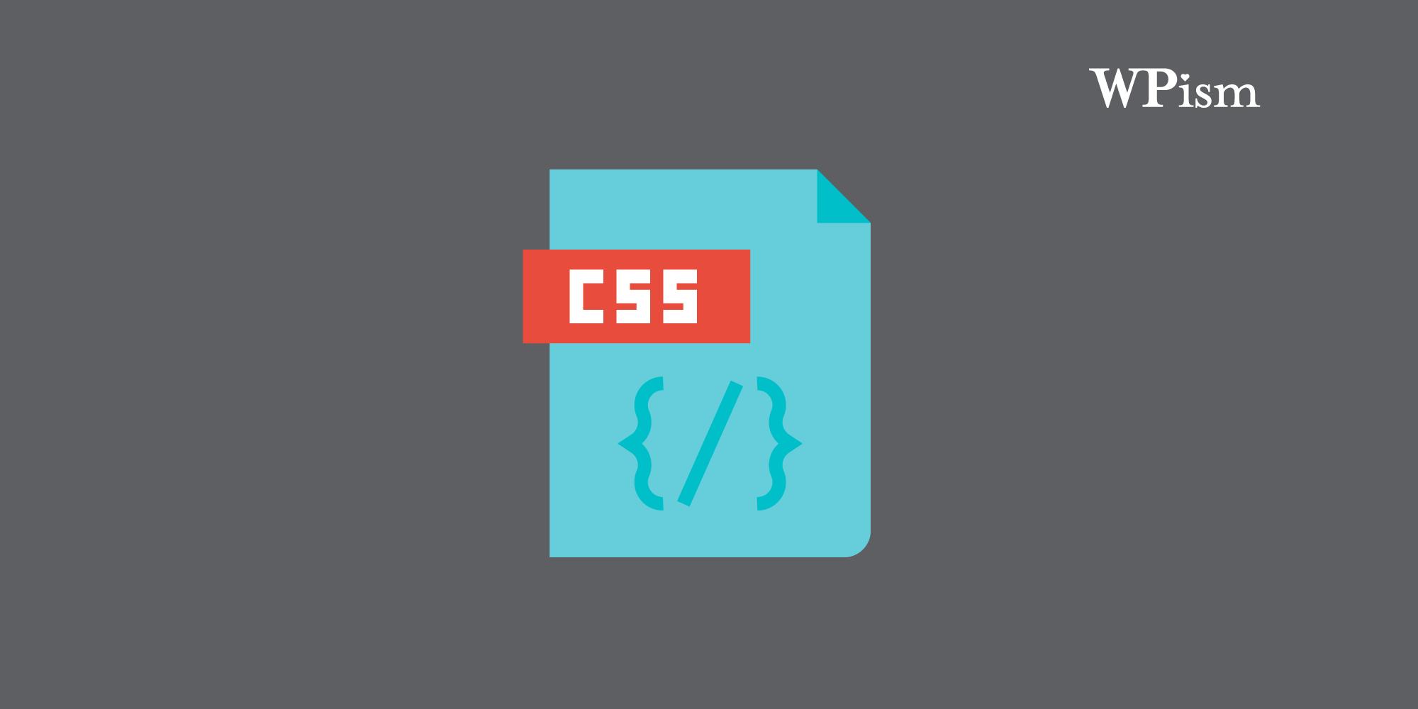 CSS WordPress Glossary Cascading Stylesheets Basics