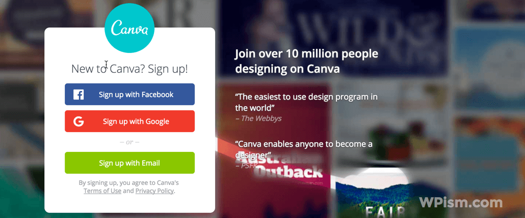 Canva - Simple Graphic Designs