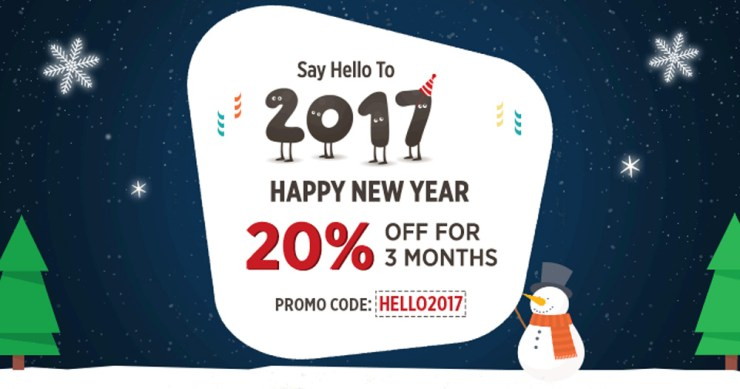 Cloudways New Year 2017 Deal