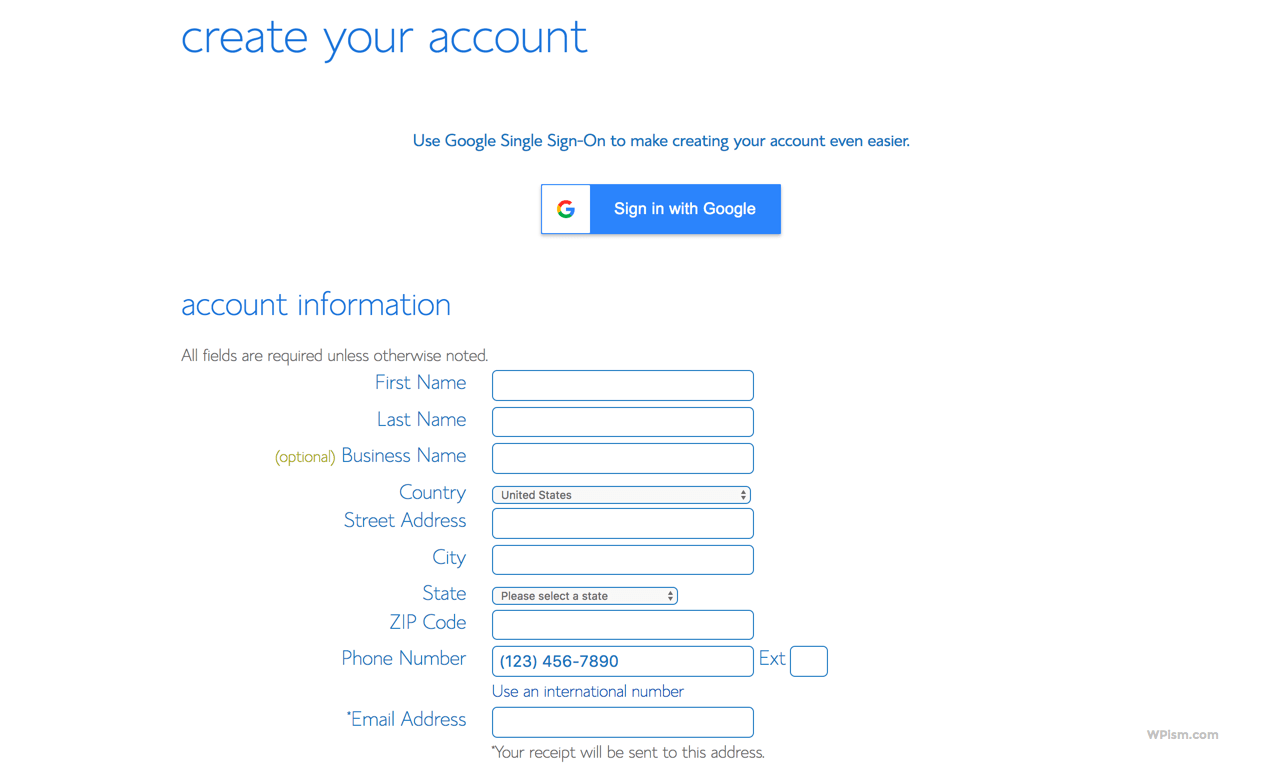 Create Your Blog Hosting Account with BlueHost