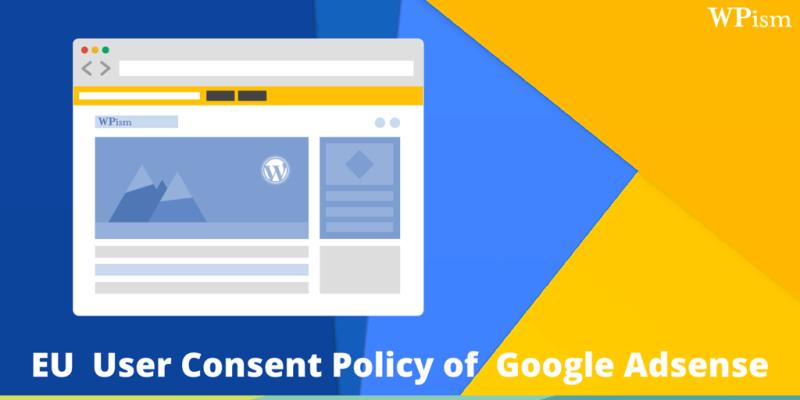 EU Cookie Policy Google Adsense