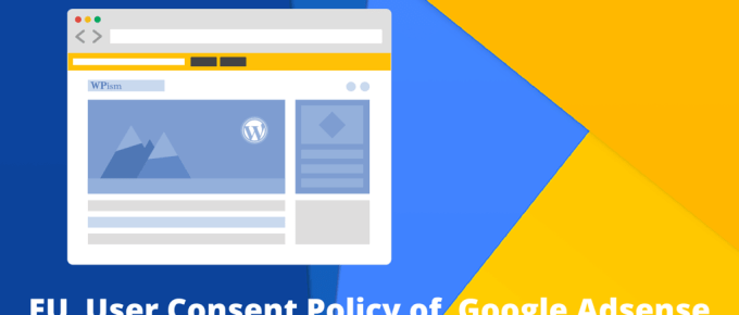 EU Cookie Policy Google Adsense
