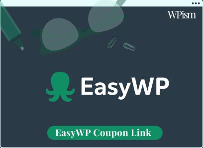 EasyWP coupon code sidebar