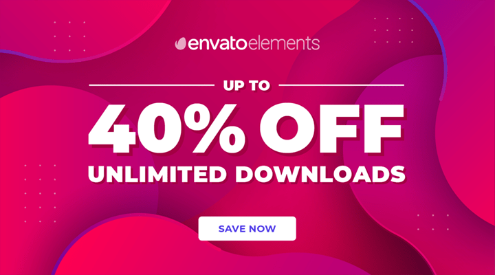 Envato Elements Cyber Monday Deal