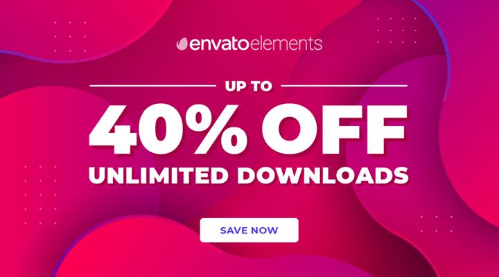 Envato Elements Cyber Monday Deal