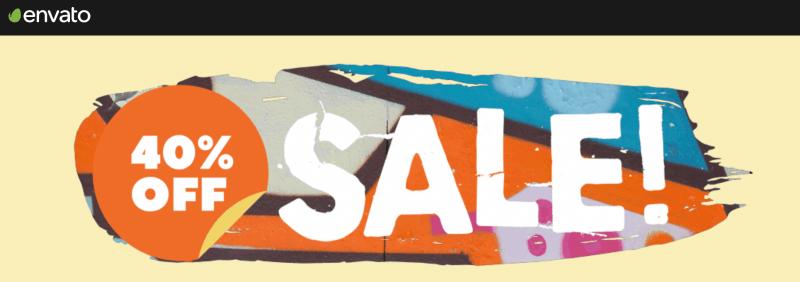 Envato Market Coupon Sale Mid 40