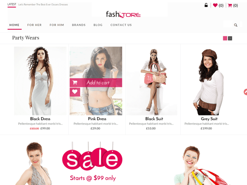 FashStore By Access Keys WordPress Theme