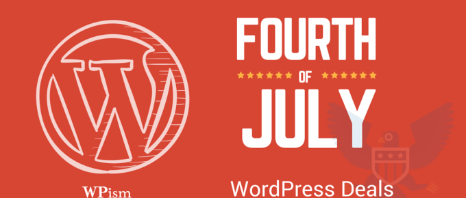 Fourth of July Independence Day wordpress deals
