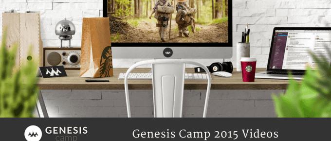 Genesis Camp 2015 Videos Genesis Themes