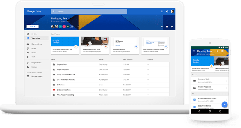 Google Drive G Suite Coupon demo