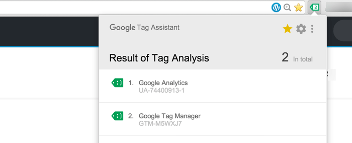 Google Tag Manager Chrome Extension Right Placement Tags