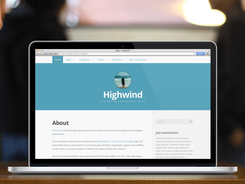 Highwind WordPress Theme James Medium Alike
