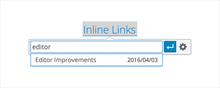 Inline Links in WordPress 4.5