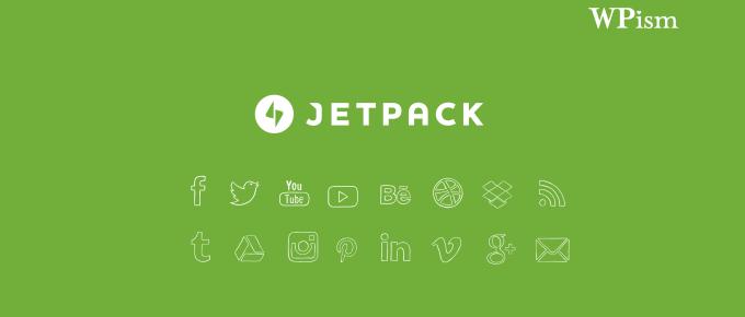 Jetpack Social Media Icons Widget WordPress