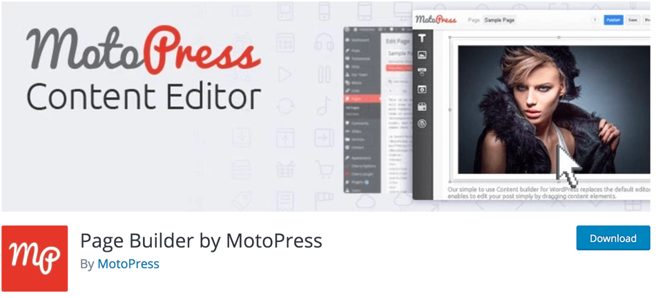 MotoPress Page Builder Free Plugin