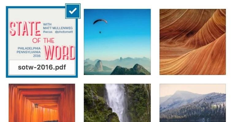 PDF Thumbnail Previews WordPress
