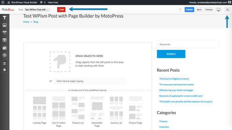 Page Builder by MotoPress Content Editor