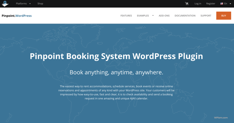 PinPoint for advanced WordPress Booking Plugins