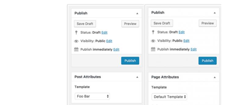Post Type Templates in WordPress 4.7