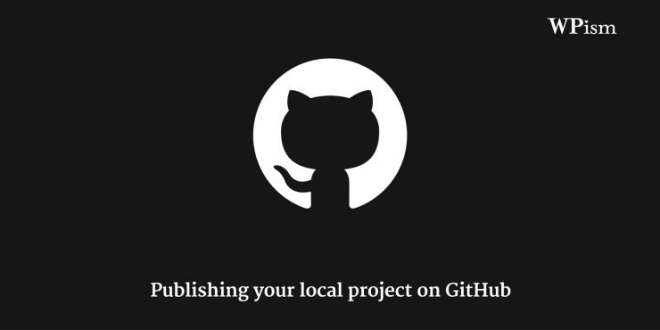Publish your local project on GitHub