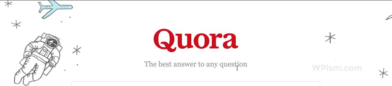Quora - Professional Q&A Platform