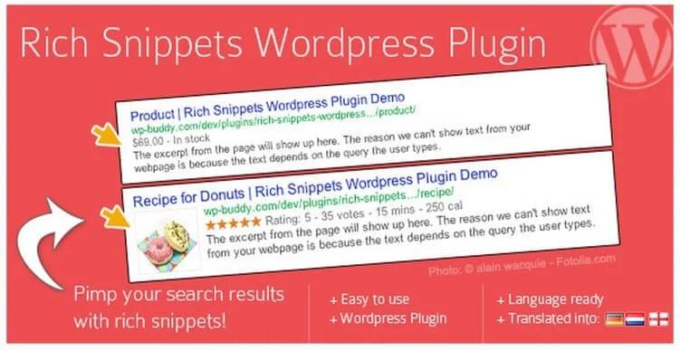 Rich Snippets WordPress Plugin CodeCanyon Download