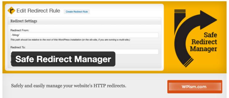 Safe Redirects WordPress plugin