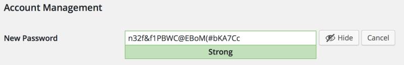 Secure Passwords WordPress 4.3