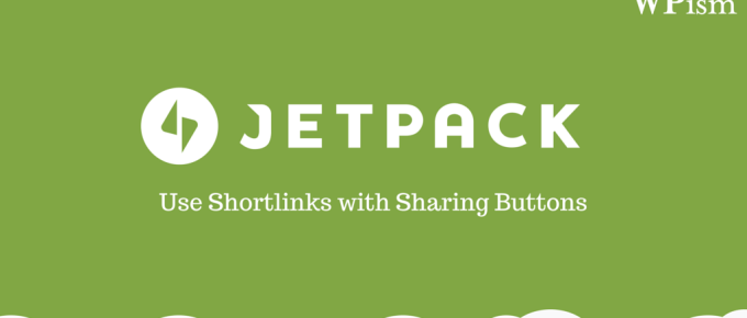 Shortlinks Sharing Buttons Jetpack plugin