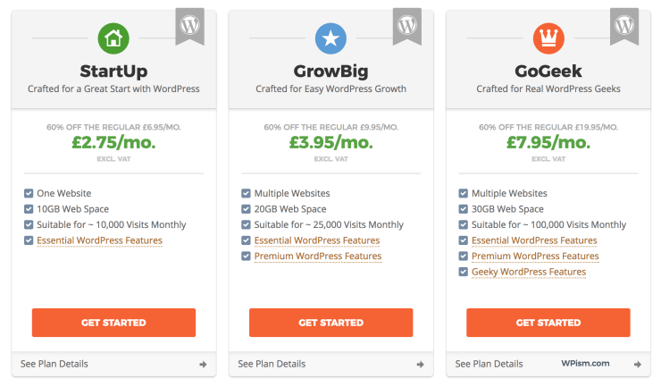 Siteground coupon discount pricing
