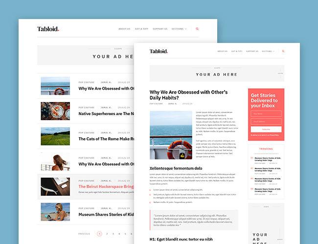 Tabloid WordPress Theme MyThemeShop