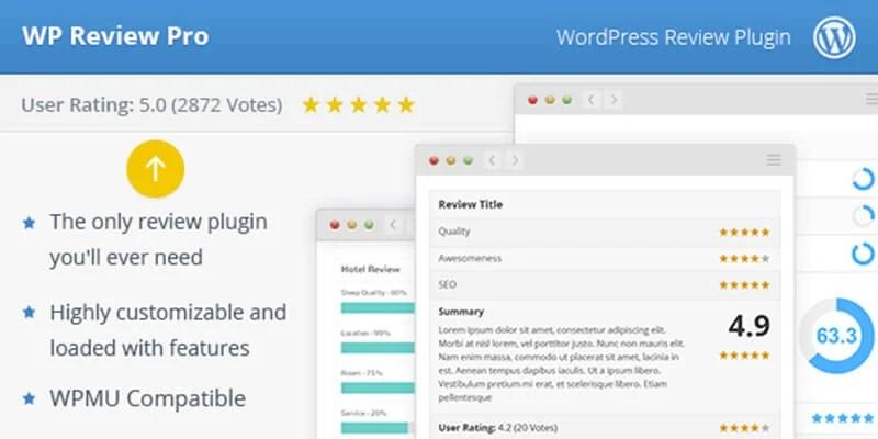 WP Review Pro WordPress Plugin Schema Markup