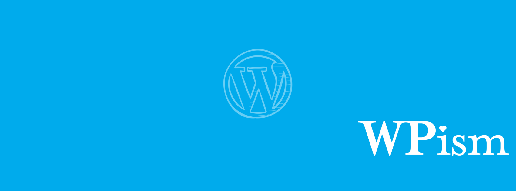 WPism Love WordPress Subscribe Options