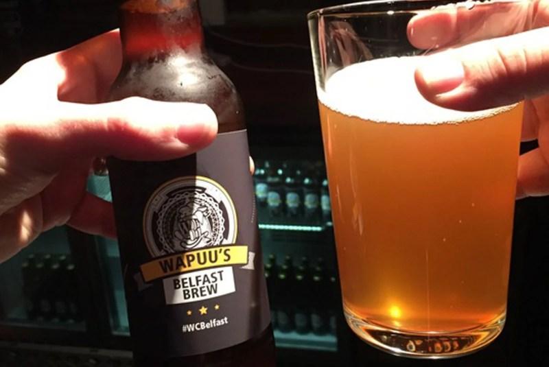 Wapuu's Belfast WordCamp Brew