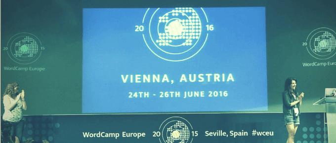 WordCamp Europe 2016 in Vienna Austria
