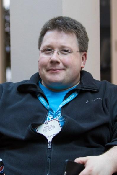Thomas Bruehl at WordCamp London 2016-3192