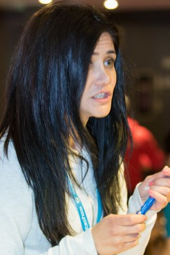 Kristina representing SiteGround at WordCamp London 2016-3209
