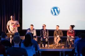 Mike Little, Pascal Birchler, Panel, WordCamp London 2016-3516