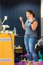 Soledad Penadés speaking at WordCamp London 2016-4247